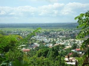 View overlooking the plains of Arouca/Tacarigua