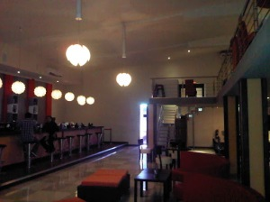 A View of the downstairs Lounge area
