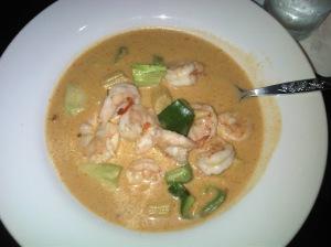 Thai Red Shrimp Curry