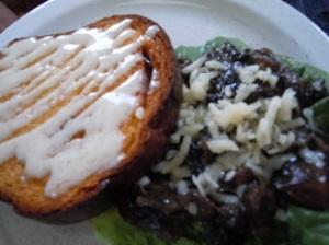 Mushroom Duxelle Sandwich