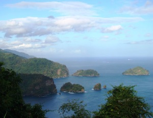 View of some of the Islets off the Trinidad North Coast