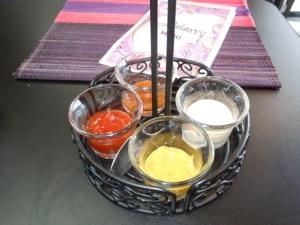 Condiments Display