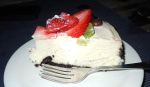 My slice of Birthday Cheesecake