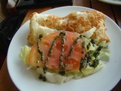 Crab & Bell Pepper Turnover