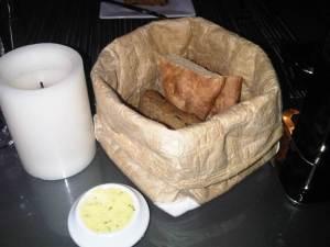 Olive bread and Potato bread