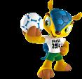 WC 2014 mascot: Fuleco