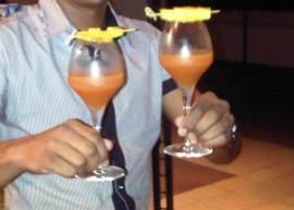 Alcoholic Cocktail Option