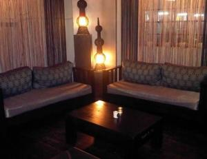 A view of the inside of Dr!nk Lounge & Bistro