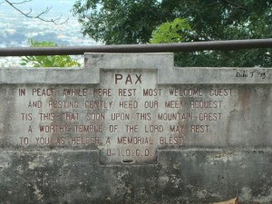 PAX Guest House Welcome Sign