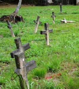 Fallen cross...