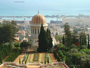 Overlooking the Haifa Bay