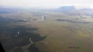 The View below... flying over Venezuela.
