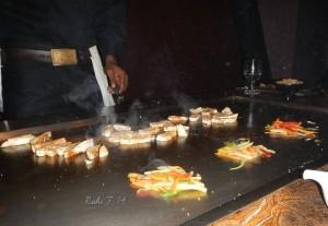 Preparation of the Samurai Spicy Chicken choice
