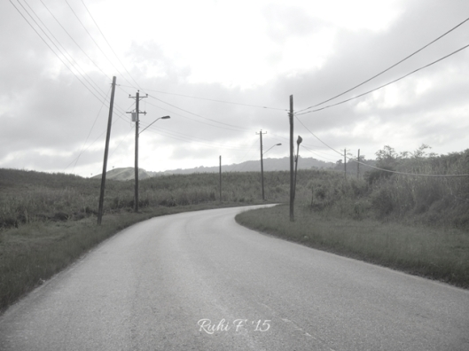 Driving through Gran Couva