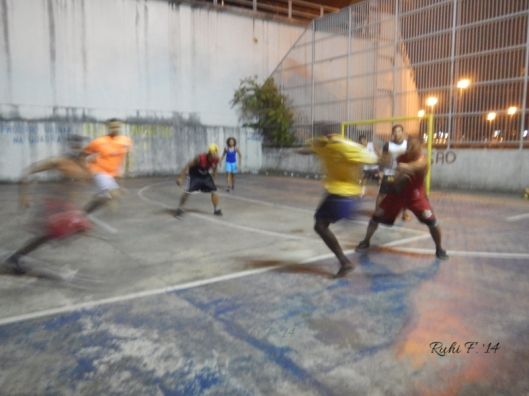 5-a-side football on the streets of Manaus, Brasil