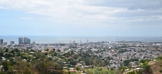 Views of the Capital City of Port-of-Spain, Trinidad