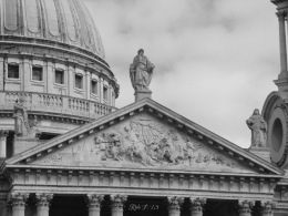 St. Paul's Cathedral, London - Monochrome