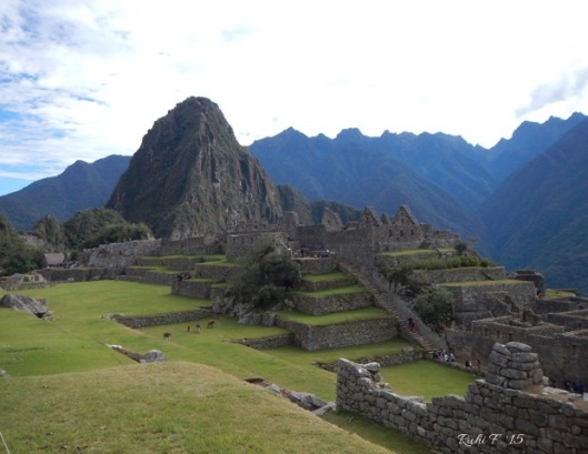 Views of Machu Picchu